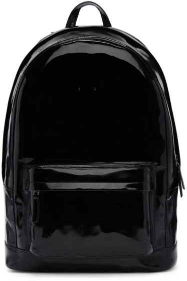 PB 0110 - Black Patent Leather CA 6 Backpack