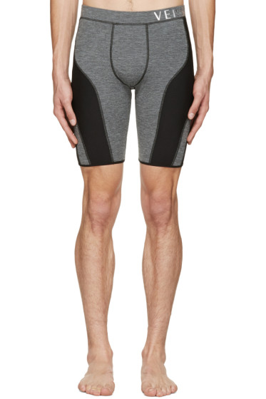 Versace Underwear - Grey Running Shorts