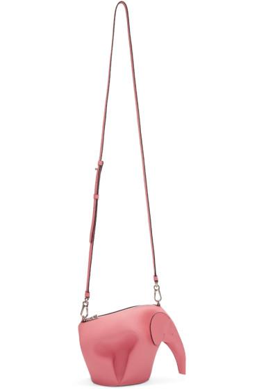 Loewe - Pink Mini Elephant Bag
