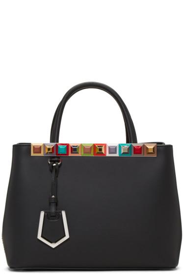 Fendi - Black Petite 2Jours Tote Bag