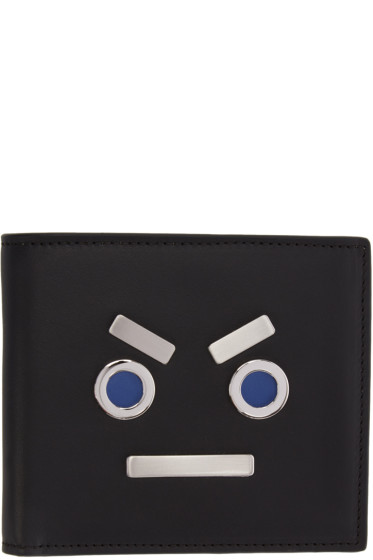 Fendi - Black 'Fendi Faces' Wallet