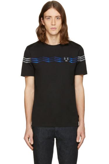 Fendi - Black Zig Zag T-Shirt