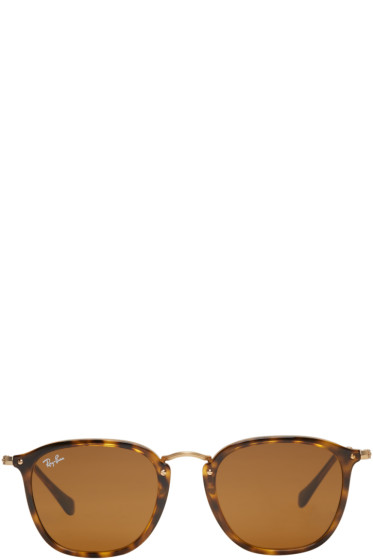 Ray-Ban - Tortoiseshell Square Sunglasses