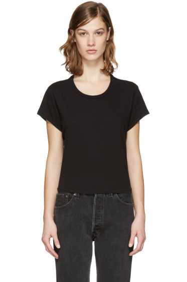 Re/Done - Black 1950's Boxy T-Shirt
