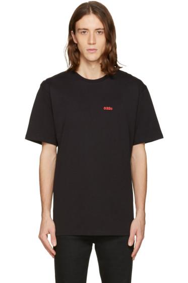 032c - Black 'Pyrate Society' T-Shirt