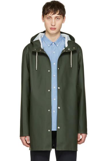 Stutterheim - Green Stockholm Raincoat