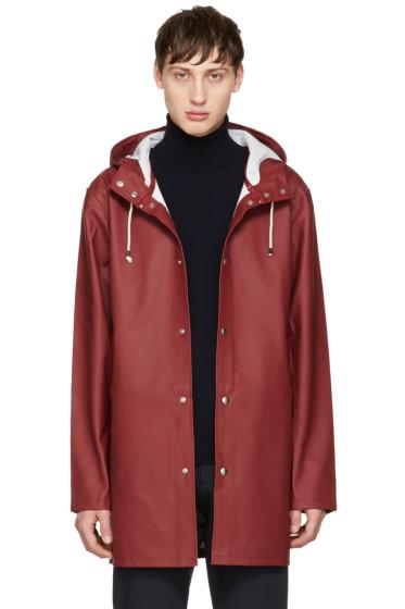Stutterheim - Burgundy Stockholm Raincoat