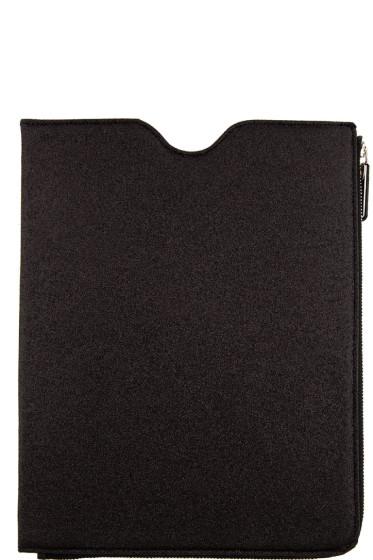 Maison Margiela - SSENSE Exclusive Black Glitter iPad Case