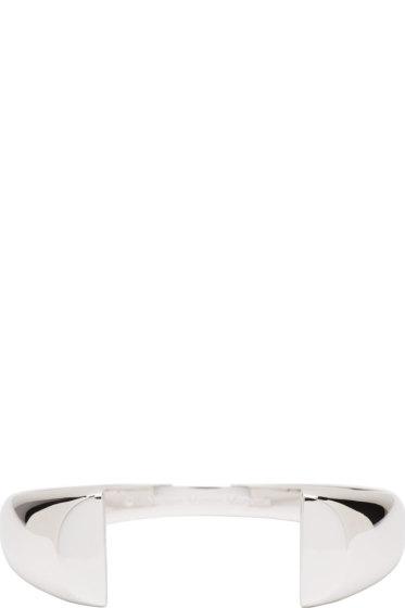 Maison Margiela Fine Jewellery - Silver Chevaliere Split Bracelet