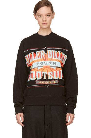 Juun.J - Black Killer-Diller New Era Edition Sweatshirt