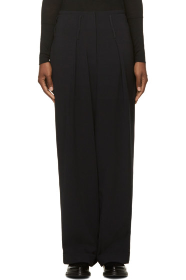 Costume National - Black Wide Leg Trousers