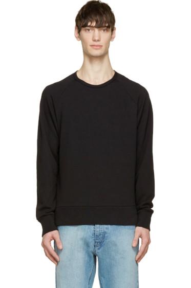 Rag & Bone - Black Classic Raglan Sweatshirt