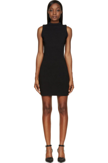 Christopher Kane - Black Padded Bolster Dress