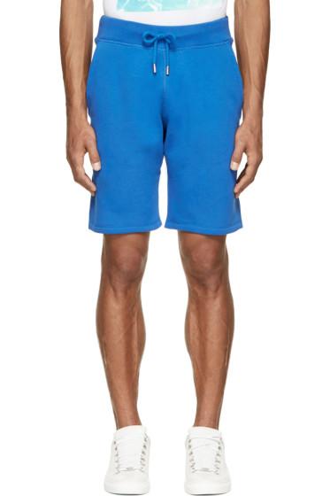 Christopher Kane - Blue Fleecy Shorts