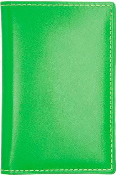 Comme des Garçons Wallets - Green Super Fluo Card Holder