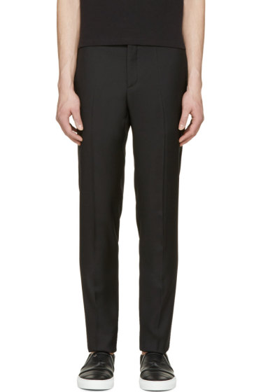 Givenchy - Black Slim Classic Trousers