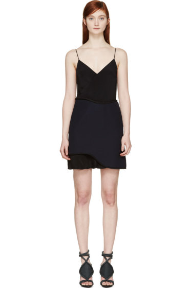 3.1 Phillip Lim - Dark Navy Corded Slip Dress