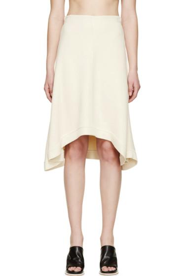 Chloé - Beige Double Jersey Skirt