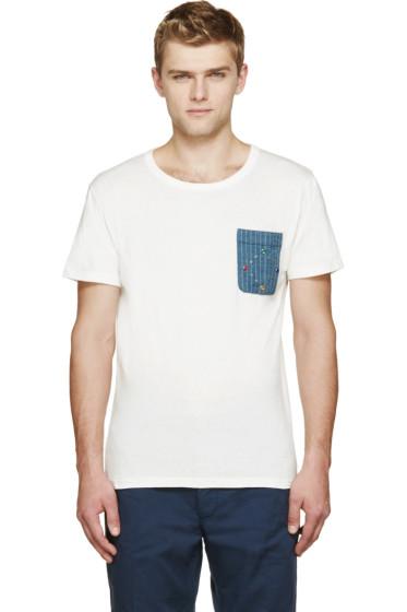 Visvim - Off-White Pocket T-Shirt