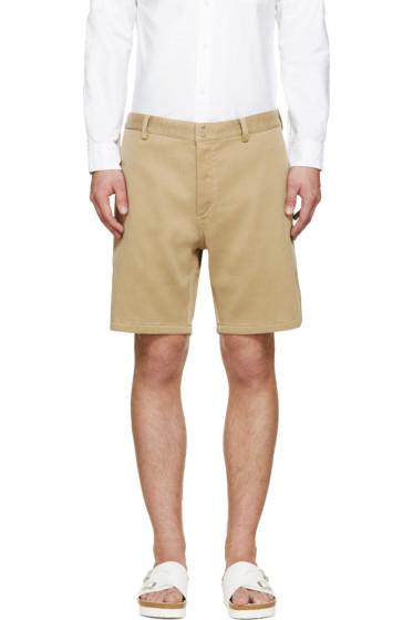 Visvim - Beige Ribbed Pastoral Shorts