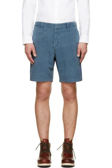 Visvim - Indigo Check Pastoral Shorts