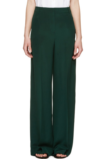 Erdem - Forest Wide Leg Birte Trousers