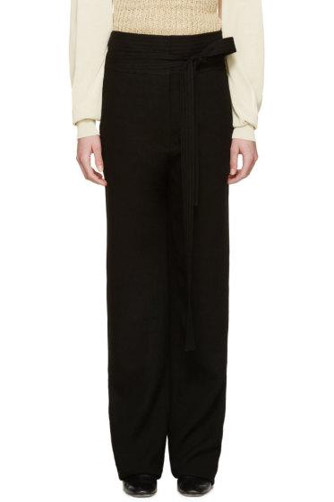 Loewe - Black Woven Judo Trousers