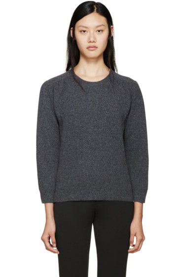 Jil Sander - Grey Crewneck Sweater