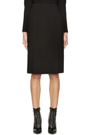 Alexander McQueen - Black Mid-Length Pencil Skirt