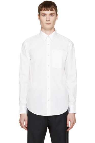 Opening Ceremony - White Poplin Powell Shirt