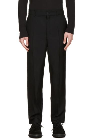 Damir Doma - Black Wool Pamis Trousers