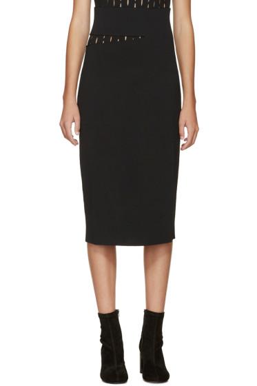 Proenza Schouler - Black Slit Skirt