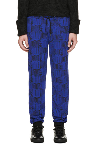 Kenzo - Black & Blue Love Lounge Pants