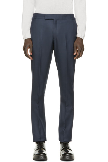 A.Sauvage - Navy Murphy Trousers
