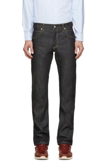 Visvim - Blue Raw Denim Social Sculpture 09 Jeans