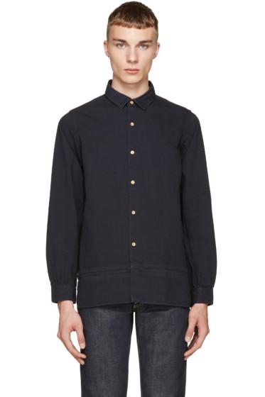 Visvim - Navy Long Rider Shirt