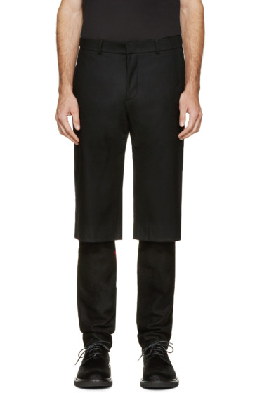 D.Gnak by Kang.D - Black Layered Trousers