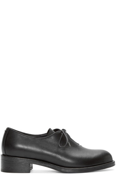 Haider Ackermann - Black Leather Derbys
