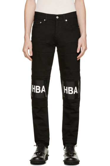 Hood by Air - Black Hockey Jeans