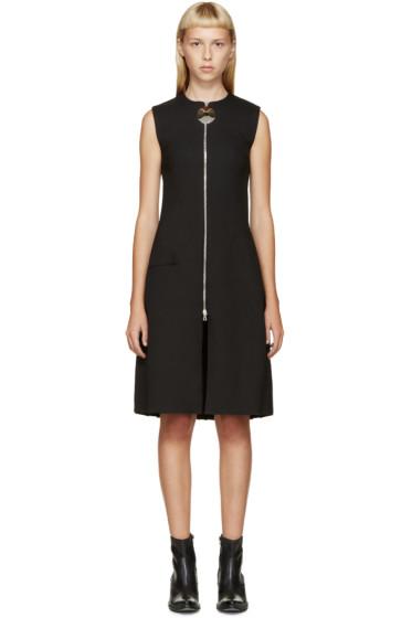 Thomas Tait - Black Angled Pleat Dress