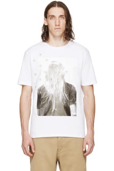 Palm Angels - White Iconic T-Shirt
