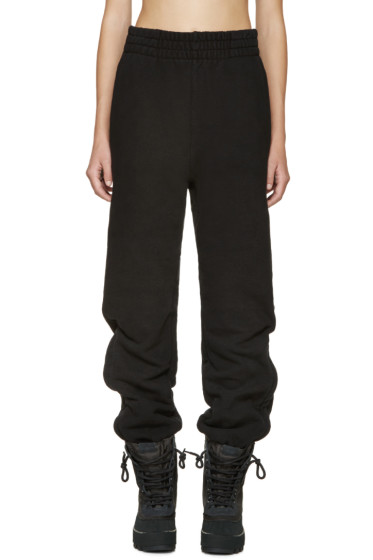 YEEZY Season 1 - Black Cuffed Lounge Pants