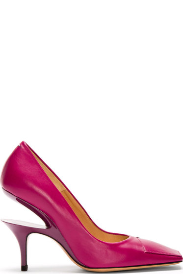 cut out heel pumps - Pink & Purple Maison Martin Margiela