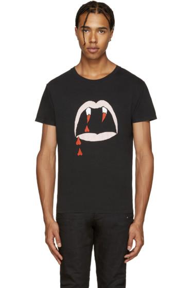 Saint Laurent - Black Bloodluster T-Shirt