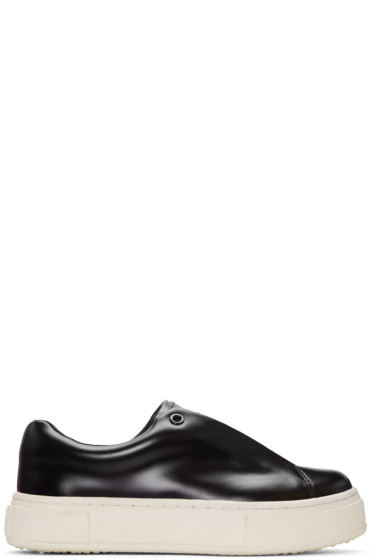 Eytys - Black Leather Doja Sneakers