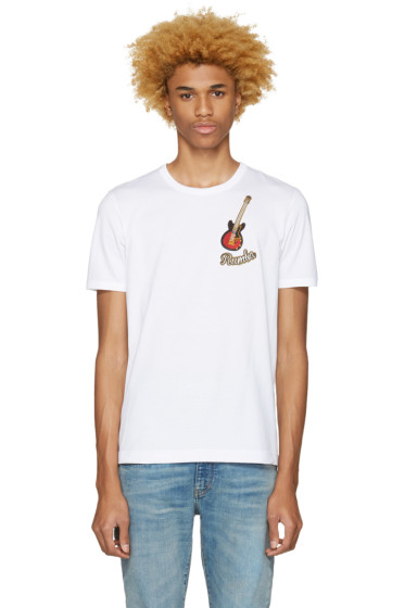 Dolce & Gabbana - White 'Rumba' T-Shirt