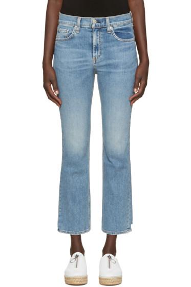 Rag & Bone - Indigo 10 Inch Stove Pipe Jeans