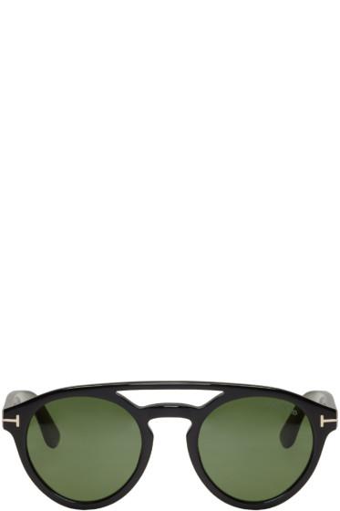 Tom Ford - Black Clint Sunglasses