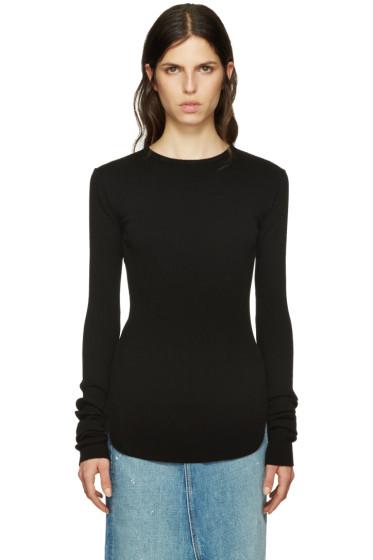 Helmut Lang - Black Long Sleeve T-Shirt