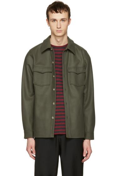 A.P.C. - Green Bleach House Shirt